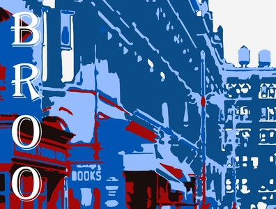 Brooklyn superhero marvel illustrator vector typography illustration design