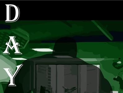 Dayton superhero marvel illustrator vector typography illustration design