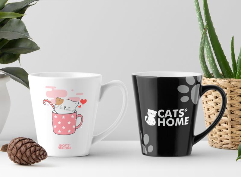 CATS' HOME - Product Samples packaging product design logo illustration design branding