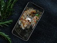 HAKUHAN - Branding & Web Design japanese japan restaurant responsive app webdesign ux ui illustration design branding