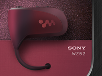 Sony Walkman W262 icon