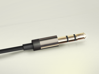 Headphone plug of  Aurvana In-Ear2
