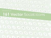 NViconsLib - 161 vector Social Icons on Github