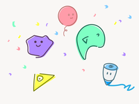 litter fun doodle