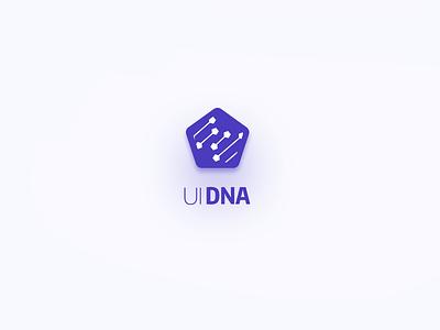 Photoshop UI desgin extension UI-DNA logo 1st logo