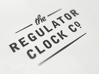 Regulator Clock Co.