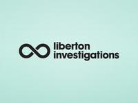 Liberton liberton investigations logo idea concept unused