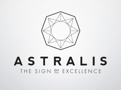 Astralis - unused logo idea.
