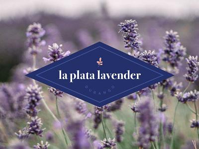 Secondary Badge Lavender Logo durango purple flower logo farm logo farm brand flower floral logo diamond logo lavender la plata colorado logo