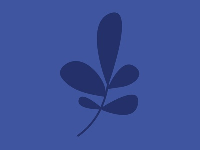 Floral Logo Mark minimal illustration purple monochrome flower stem whimical design petal logo lavender flower flower mark floral logo lavender logo purple lavender
