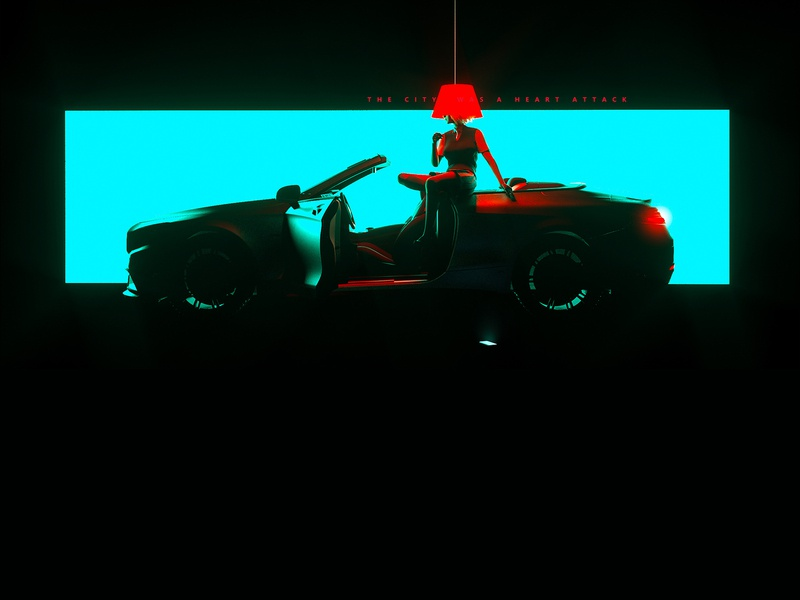 - graphic character 3d cyber c4d