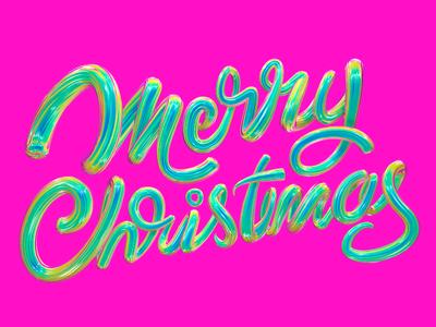 Merry Christmas font christmas