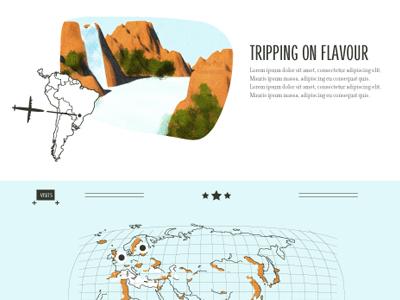 Tannine website retro vintage iguazu argentina