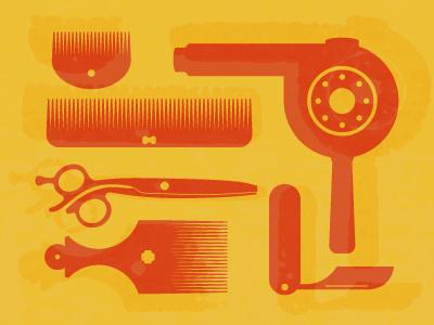 HandyHannah hairdressing illustration tools