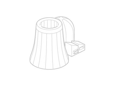 Bildding Nuclear icon isometric nuclear