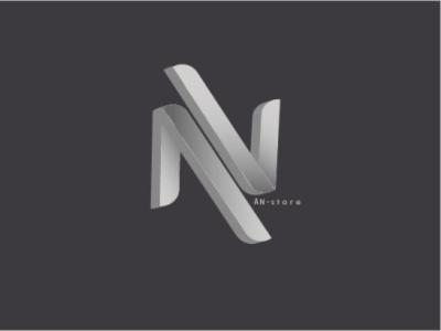 AN STORE design logo monogram
