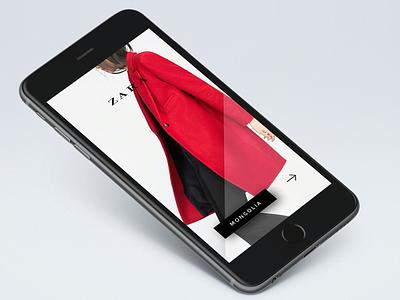 Zara Mongolia - iPhone App app iphone mongolia zara