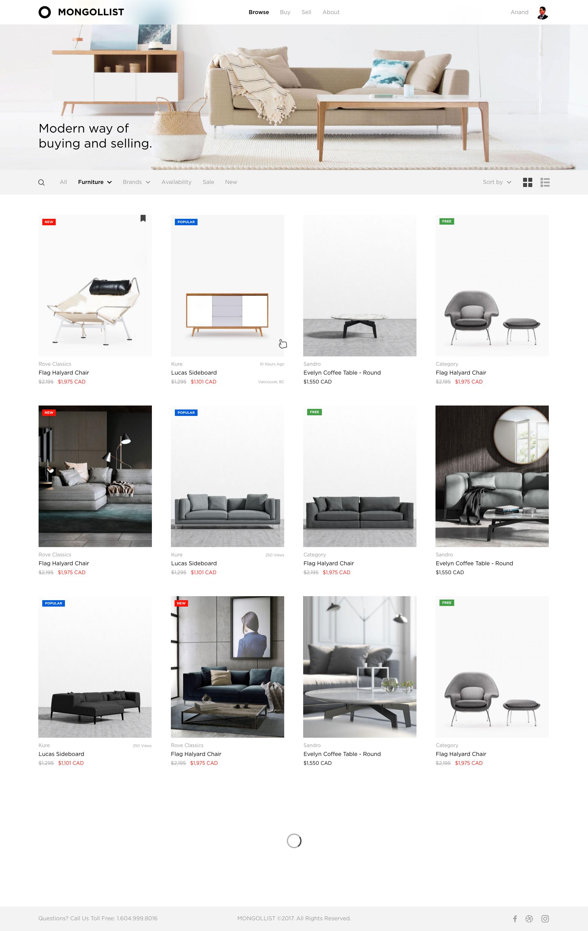 Mongollist Web Design