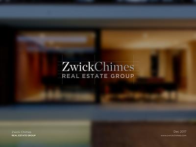 Zwick Chimes - Logo Design minimalistic modern design logo real estate