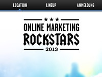 Online Marketing Rockstars 2013