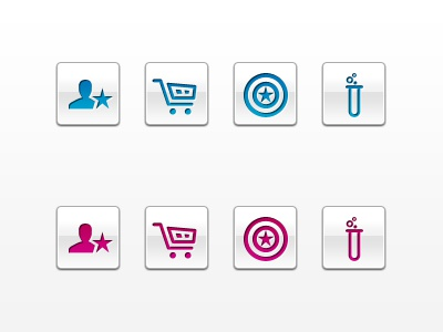 Dribbble cut metrigoshinyicons