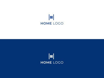 Home logo - Minimal - Flat logo design symbol icon h monogram logo mark logotype h letter logo illustraion minimal abstract logo minimalist logo app logo flat logo modern logo brand identity branding graphic designer logo designer graphic design logo design home logo h logo