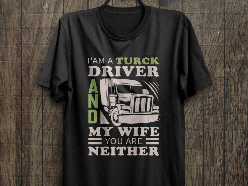 Truck driver t shirt design print t shirt design vector t shirt design idea free t shirt truck driver t shirt amazon t shirts design t shirt art truck t shirt travel vector illustration typography t shirt design t shirt