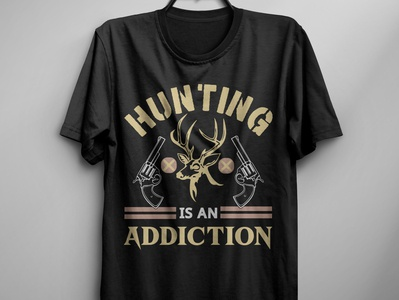 Hunting is an addiction t shirt design free t shirt free t shirt design new t shirt design new t shirt print illustration t shirt design idea typography t shirt design hunter t shirt amazon t shirts hunting t shirt design hunting t shirt hunting vector hunting t shirt design t shirt