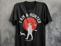 Iam a hunter t shirt design vector hunter t shirt hunting vector print t shirt design idea illustration t shirt design t shirt amazon t shirts hunting t shirt design hunting t shirt hunting hunter