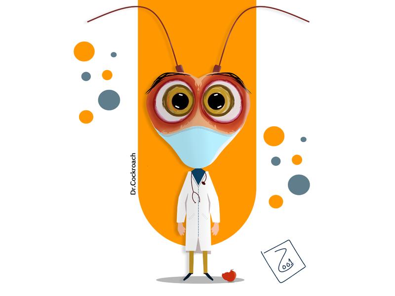 Dr.Cockroach (2009) cockroach mask doctors