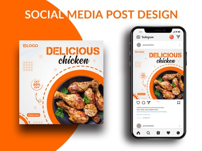 Food Social Media Banner - Restaurants banner banner ad banner social media post facebook banner food banner instagram banner media restaurants social social media banner web banner banner design branding design