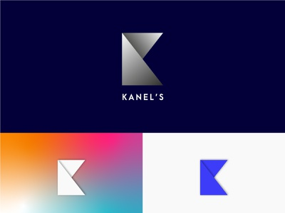 Kanel's-K Letter Logo fashion logo fashion brand illustration gradient logo modern logo typography icon logo brand identity brand design minimal branding k letter logo