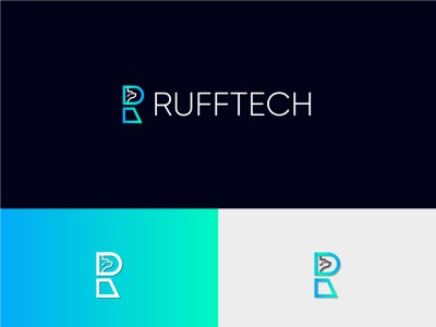 R letter logo gradient logo monogram logo r logo app typography modern logo icon logo brand identity minimal design brand design branding r letter logo