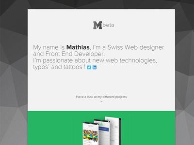M92 Personal Website