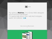 M92 Personal Website