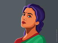 Vector Portrait illustration