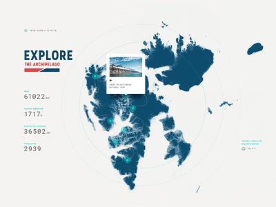 SVLBRD Expedition web graphics map ui website webdesign