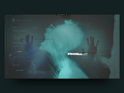 X-Files-inspired wallpaper visualdesign xfiles design wallpaper screengraphics screen ui