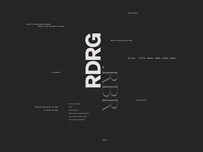 My Portfolio Website | VRSN 0.01.dark [detail] portfolio clean website typography ui webdesign design
