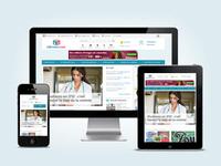 Infirmiers.com responsive design