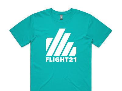 Green FLIGHT21 shirt