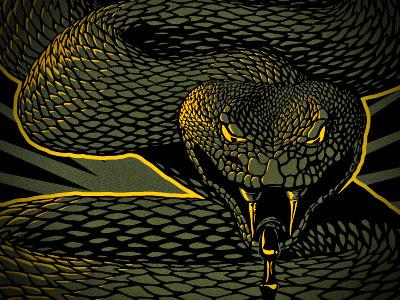 SsSnake illustration snake design