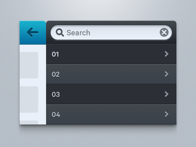 Basic iOS 6 elements #02 navigation search bar list elements ios result animation