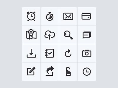 Icons icons round