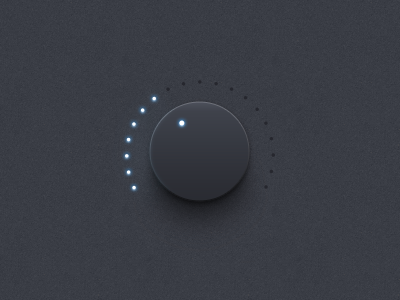 Volume Knob volume knob ui iphone interface