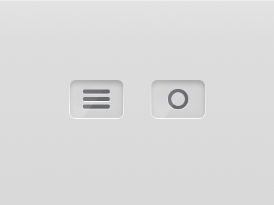Nav Buttons button navigation dropdown open ui options