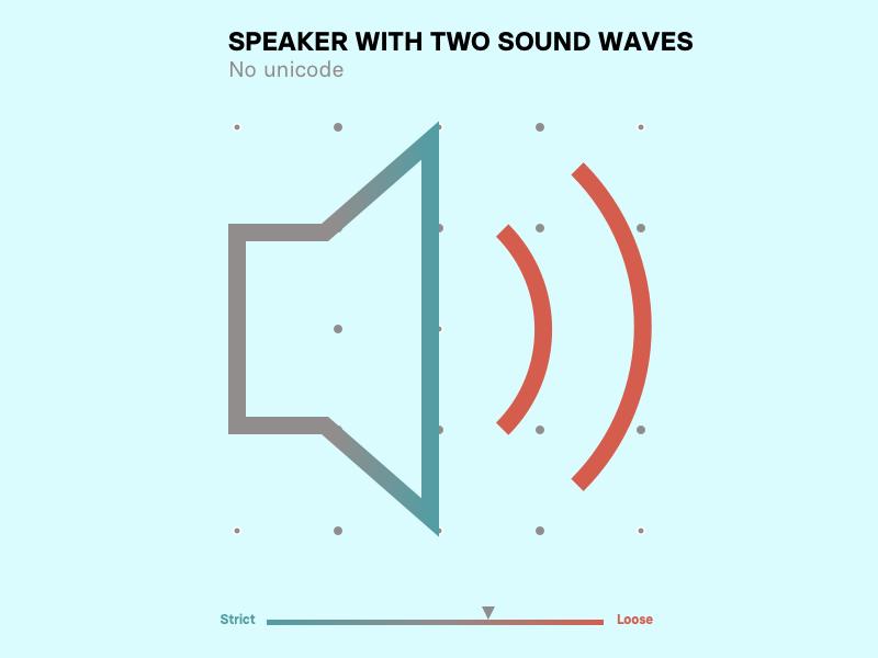 Speaker generic off grid experimental speaker system design grid minimal icons