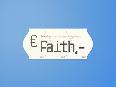 Schreber Mono download mock-up minimalist typography design type typography ofl free type design typeface mono schreber