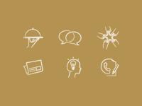 Veganas Web Navigation Icons