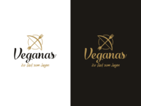 Veganas Logo Variations